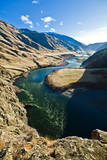 The Snake River, as Seen from Suicide Point at Hells Canyon in Idaho Photographic Print by Ben Herndon