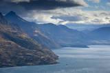 Lake Wakatipu from Kelvin Heights Near Queenstown, New Zealand's South Island Photographic Print by Sergio Ballivian