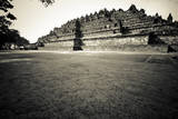 9th Century Monument of Borobudur in Java, Indonesia Photographic Print by Dan Holz