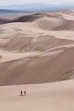 The Great Sand Dunes National Park Near Alamosa, Colorado Reproduction photographique par Sergio Ballivian