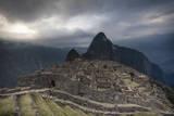 The Famous Machu Picchu in Peru Reproduction photographique par Patrick Brandenburg