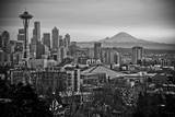 The City Skyline of Seattle, Washington from Kerry Park - Queen Anne - Seattle, Washington Photographic Print by Dan Holz