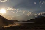 Torres Del Paine National Park Wildfire in Patagonia, Chile Reproduction photographique par Patrick Brandenburg