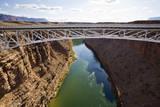View of the Colorado River from the Navajo Bridge Reproduction photographique par Sergio Ballivian