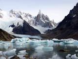 Fitz Roy Range, Andes, Patagonia Argentina Fotografisk trykk av Maureen Eversgerd