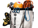 A Haul Bag Overloaded with Rock Climbing Gear Photographic Print by Dan Holz