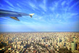 Argentina, Buenos Aires, City Airport Jorge Newbery Aep. Taking Off Photographic Print by Michele Molinari