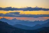 Washington, Pasayten, Pct, Hart's Pass. Landscape from Slate Peak Stampa fotografica di Steve Kazlowski