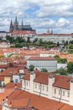 Czech Republic, Bohemia, Prague, Prague Castle Fotografisk trykk av Rob Tilley