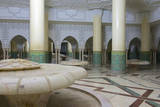 Morocco, Casablanca. the Great Mosque. the Ablutions Room Photographic Print by Michele Molinari