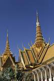 The Royal Palace in Phnom Penh, Cambodia Photographic Print by Dennis Brack