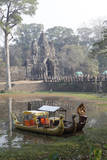 Angkor Thom Founded by King Jayavarman Vii, Cambodia Photographic Print by Dennis Brack