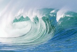 Breaking Wave in Hawaii Fotografisk trykk av Ron Dahlquist