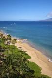 Kaanapali Beach, Maui, Hawaii Photographic Print by Ron Dahlquist