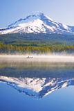 Reflection in Trillium Lake, Mt. Hood, Oregon Cascades. Pacific Northwest Fotografisk trykk av Craig Tuttle