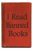 I Read Banned Books Poster Print Kunstdruck