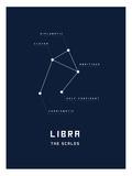 Astrology Chart Libra Print