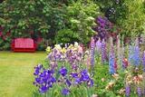 Schreiner Iris Gardens in Salem, Oregon Reproduction photographique par Craig Tuttle