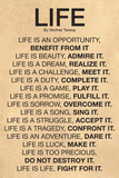 Mother Teresa Life Quote Poster Foto