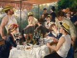 De lunch van de roeiers, ca.1881 Gicléedruk van Pierre-Auguste Renoir