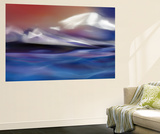 Land of Fire and Water Wall Mural by Ursula Abresch