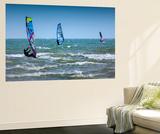 Wind Surfing Vægplakat af Adrian Campfield