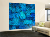 Tapestry in Blue Wall Mural – Large by Doug Chinnery