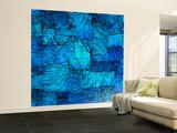 Tapestry in Blue Iso seinämaalaus tekijänä Doug Chinnery
