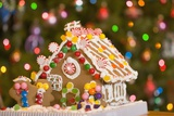 Gingerbread House at Christmas Photographic Print by Craig Tuttle