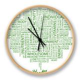 Health Clock by  Login