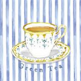 Grüner Tee Giclée-Druck von Kate Mawdsley