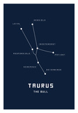 Astrology Chart Taurus Prints