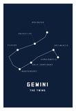 Astrology Chart Gemini Posters