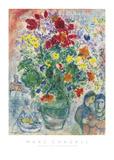 Grand Bouquet de Renoncules, 1968 Poster von Marc Chagall