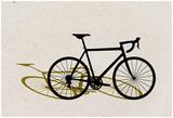 Road Bike Pop Art Poster