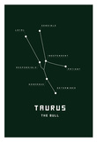 Astrology Chart Taurus Print