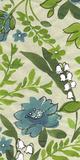 Emerald Florals II Giclée-Druck von Sandra Jacobs