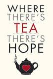 Tea Time Kunstdrucke von Tom Frazier