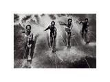 Water Ski Splash Poster von  The Chelsea Collection