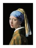 A Girl with a Pearl Earring Lámina giclée prémium por Johannes Vermeer