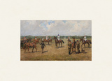 The Welsh Guard's Polo Team Giclée-Premiumdruck von Lionel Edwards