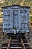 Vintage Caboose I Photographic Print by Kathy Mahan