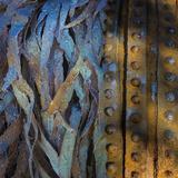 Metal Infusion I Prints by Kathy Mahan
