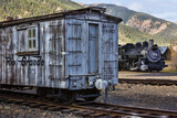 Vintage Caboose II Photographic Print by Kathy Mahan