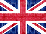 Union Jack Telephone Booths Art Poster Print Poster
