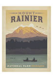 Mount Rainier National Park, Washington Poster by  Anderson Design Group