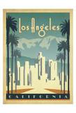 Los Angeles, California Plakater av  Anderson Design Group
