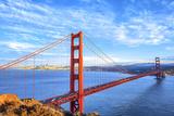View of Famous Golden Gate Bridge Fotografie-Druck von  prochasson