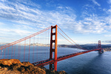 Famous View of Golden Gate Bridge Fotografie-Druck von  prochasson