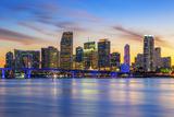 Famous City of Miami Fotografie-Druck von  prochasson